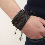 Leather bracelets men